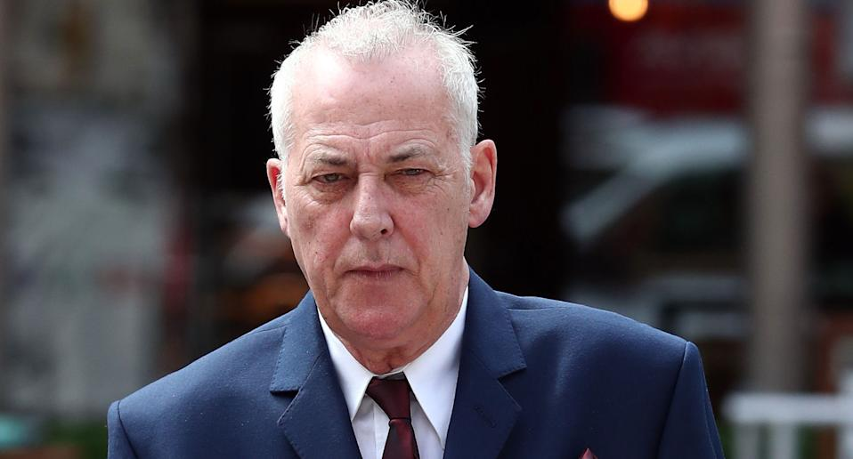 The 999 call from Michael Barrymore's home reporting Stuart Lubbock's has been released for the first time. (PA)