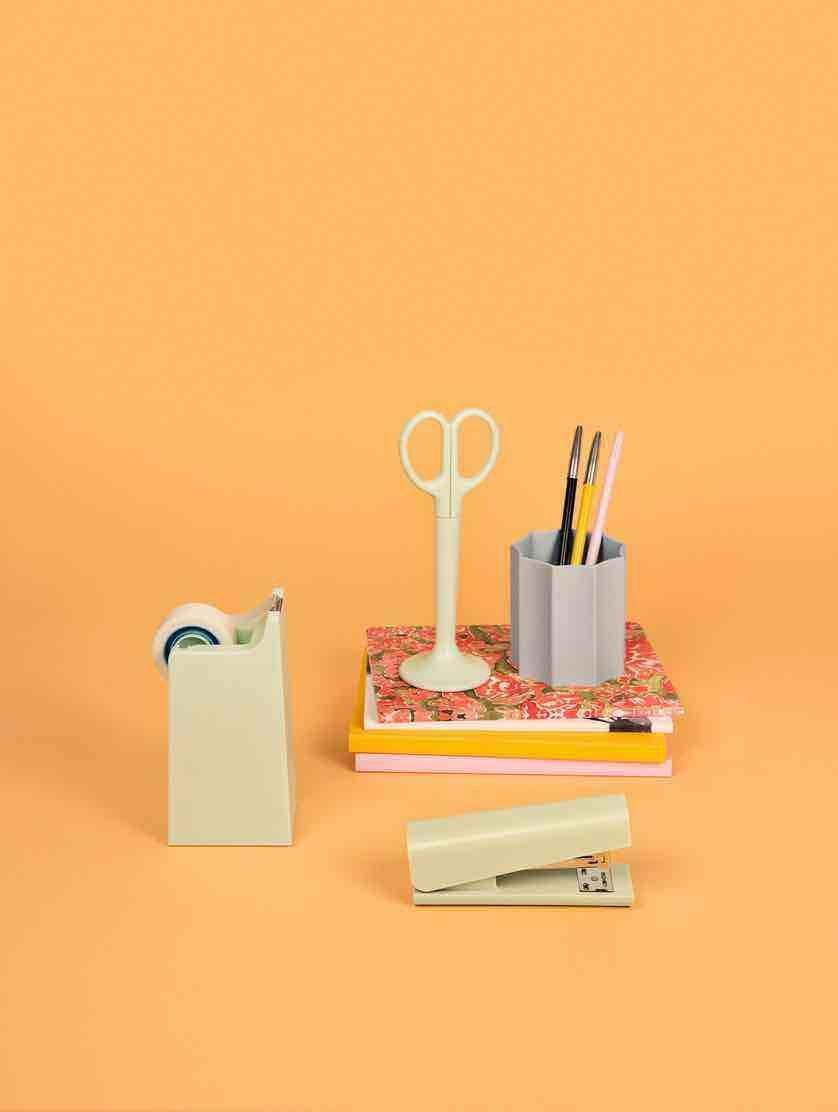 """<p>Often it's the little things that make a difference, like these cute desk essentials designed by Micheal Sodeau for Hay. Practical items with a playful edge, they will liven up long desk-bound afternoons. From £14, <a href=""""https://hay.dk/en-gb/hay/accessories-8b1762fc/office-77cac7ea/notebook-b2b/anything"""" rel=""""nofollow noopener"""" target=""""_blank"""" data-ylk=""""slk:hay.dk"""" class=""""link rapid-noclick-resp"""">hay.dk</a></p>"""
