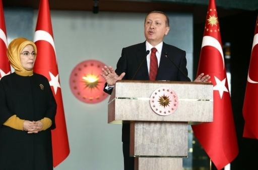 Erdogan accuses US of creating 'pool of blood' with policy on Syria Kurds