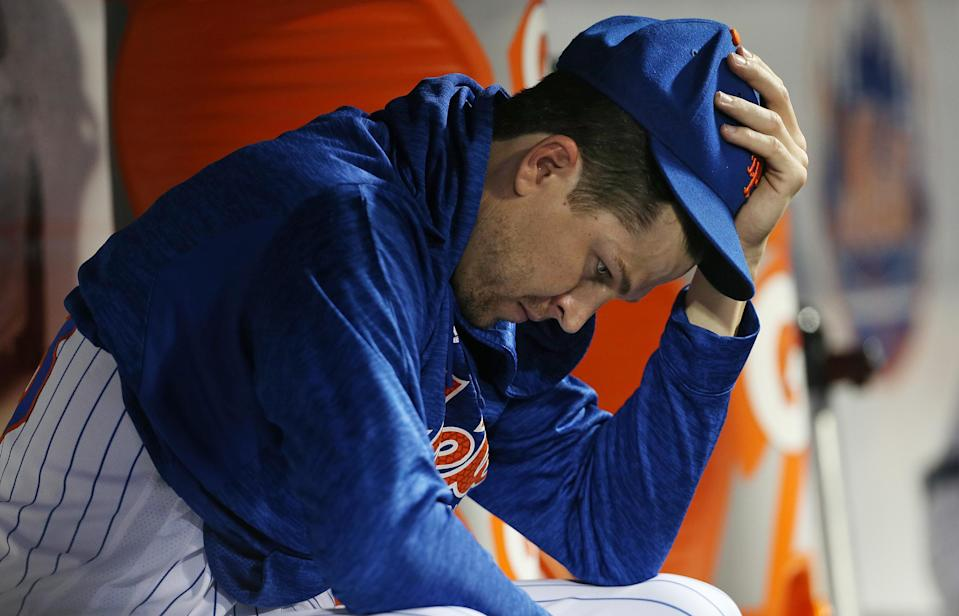 Yeah, it's been that kind of season for Jacob deGrom and the Mets. (Getty)