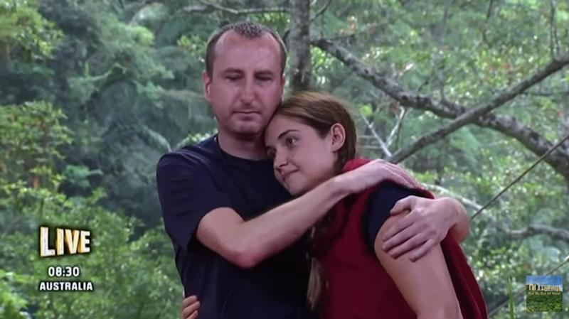 Soap star Jacqueline Jossa beat 'Coronation Street' actor Andy Whyment and radio DJ Roman Kemp (not pictured) in the most recent 'I'm A Celeb' final (ITV)