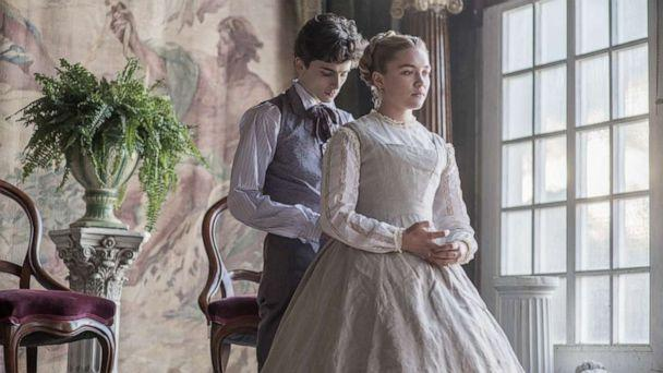 PHOTO: Timothée Chalamet and Florence Pugh in 'Little Women.' (Sony Pictures)
