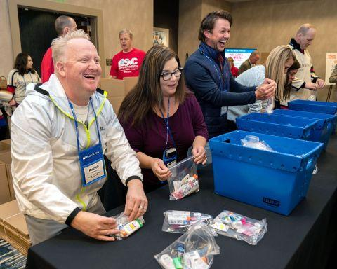 Henry Schein Builds More Than 27,000 'Comfort Kits' for People Fighting Cancer in the Second Annual 'We Care Global Challenge'