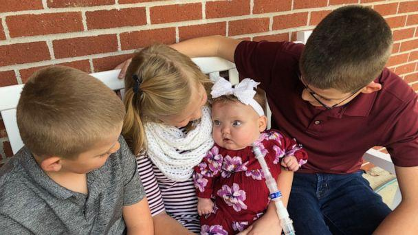 PHOTO: Joy Day was born Feb. 2, weighing 2 pounds, 1 ounce, at MU Women's and Children's Hospital in Columbia, Missouri, She was released on Oct. 28. (Amber Day)
