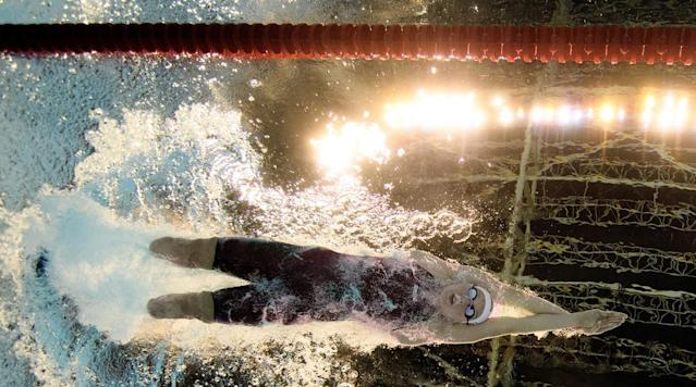<p>Jessica Long of the USA competes in the Women's 400m Freestyle - S8 in the Olympic Aquatics Stadium at the Paralympic Games in Rio de Janeiro, Brazil.</p>