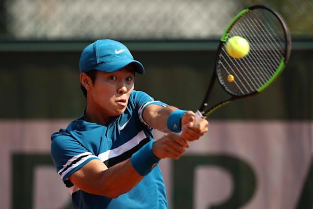 Lee Duck-hee has become the first deaf player to win a main-draw ATP Tour match. (Credit: Getty Images)