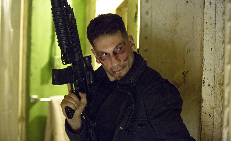Jon Bernthal as The Punisher in Marvel's 'Daredevil'