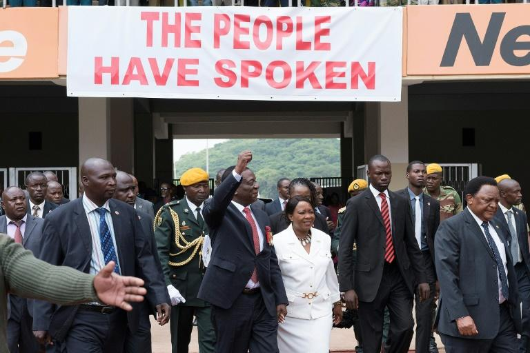Mnangagwa was sworn in last Friday on a wave of hope for change after the Mugabe era