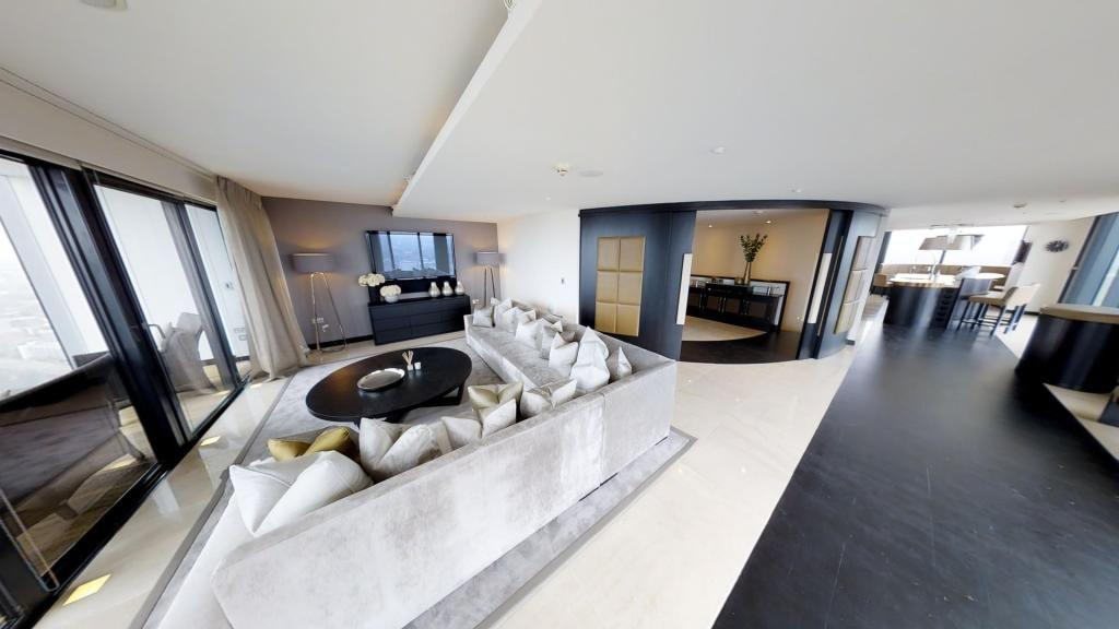"""<p>The only penthouse in the top five, this stunning loft space has five large bedrooms, a luxurious curved reception hallway, tiled flooring, floor-to-ceiling windows, a cinema room and multiple terraces. Tempted? You'll need £3.5 million. </p><p><a href=""""https://www.rightmove.co.uk/property-for-sale/property-57211584.html"""" target=""""_blank"""">This property is on the market for £3,500,000 via Rendall & Rittner at Rightmove</a>. </p>"""