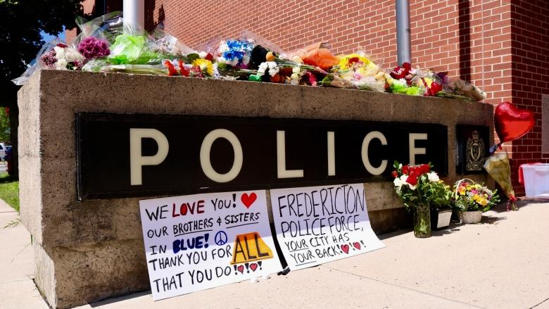 Local musician, 2 police officers ID'd as 3 of 4 Fredericton shooting victims