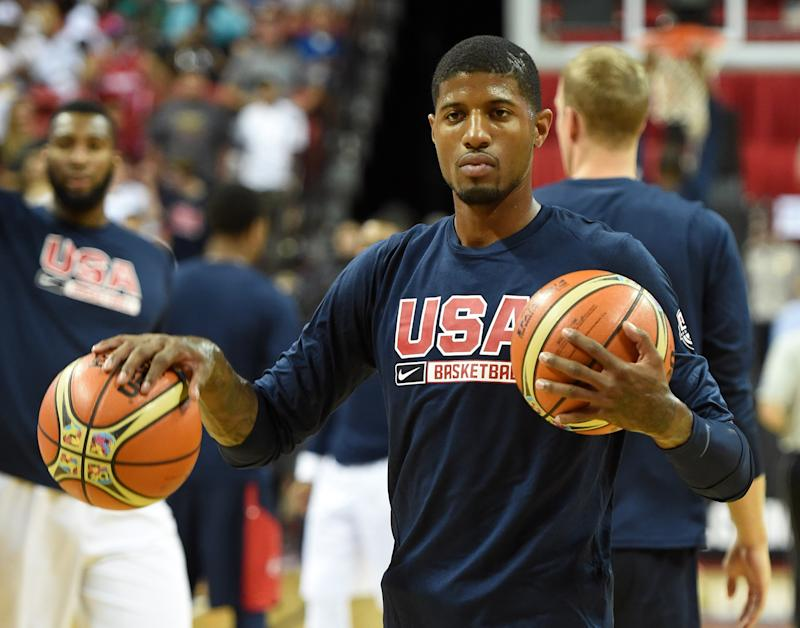 Basketball - Injured George eyes 2016 Olympic campaign
