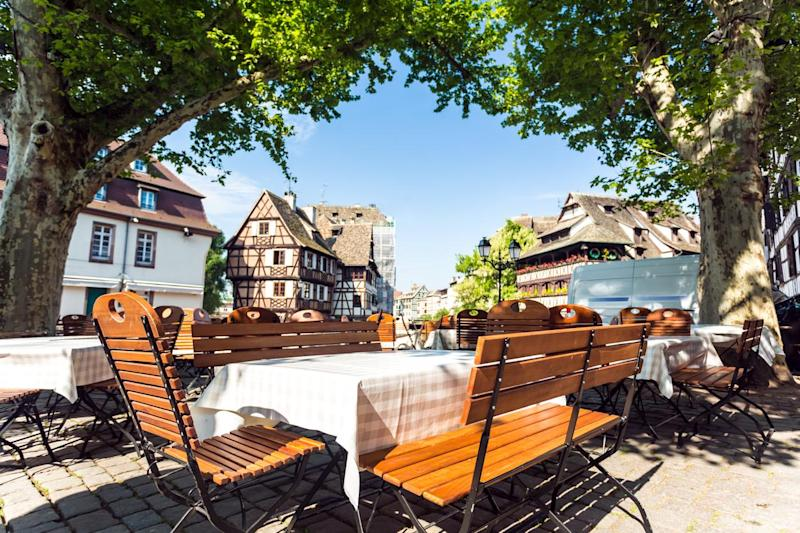 The Petite France area has charming half-timbered buildings (Getty Images/iStockphoto)