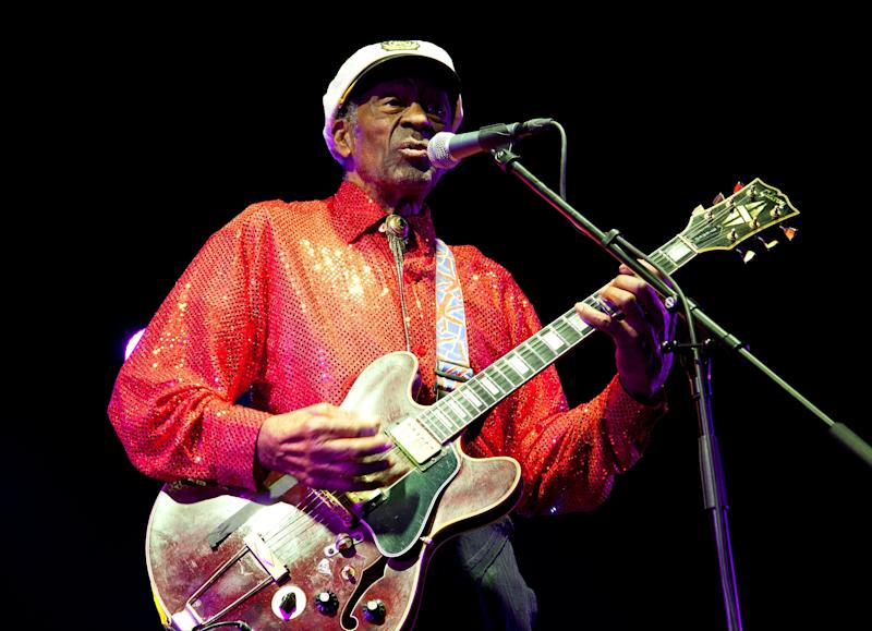 Celebrities Mourn Rock 'n' Roll Legend Chuck Berry: 'His Music and His Influence Will Last Forever'