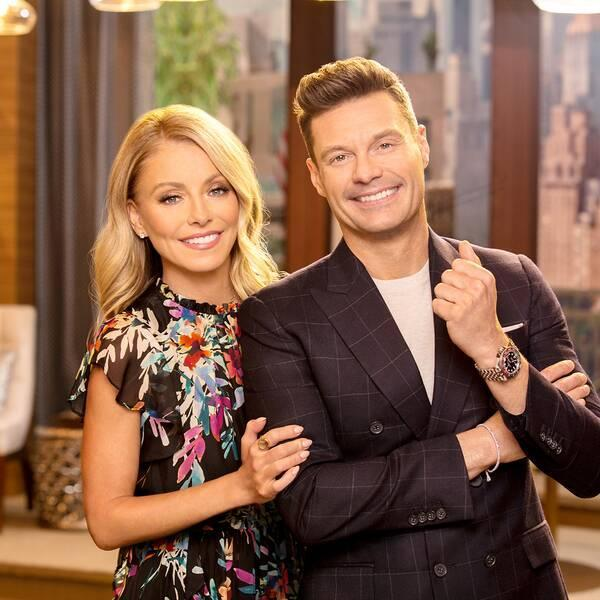 Ryan Seacrest Returns to Live With Kelly Ripa After Testing Negative for Coronavirus