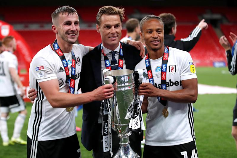 Scott Parker guided Fulham back to the Premier League at the first attempt courtesy of Tuesday's play-off final win over Brentford (Action Images via Reuters)