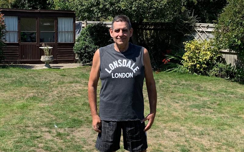 Phil Stonell has now lost more than 6 and a half stone since joining Man v Fat