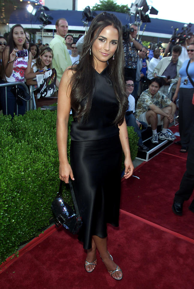 <p>At just 21, former soap opera star Jordana Brewster got her big break when she appeared as Dom's sister, Mia Torretto in the first <em>Fast</em> film. (Photo: Kevin Winter/Getty Images) </p>