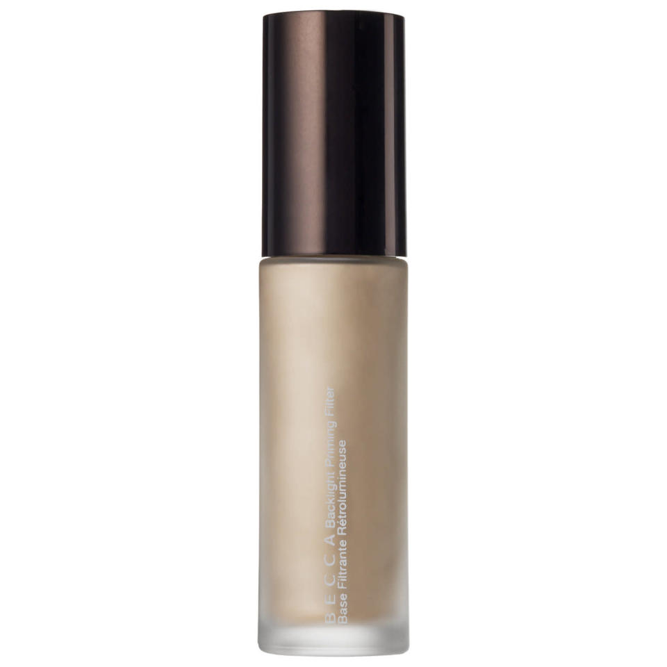 """<p>This primer is supposed to act like an instant filter through backlighting, illuminating your skin with a soft-focus glow. It's made with crushed pearls for that airbrushed, blemish-free look. <a href=""""http://www.beccacosmetics.com/us/store/complexion/makeup-primers/backlight-priming-filter/"""" rel=""""nofollow noopener"""" target=""""_blank"""" data-ylk=""""slk:Becca Backlight Priming Filter Base"""" class=""""link rapid-noclick-resp"""">Becca Backlight Priming Filter Base</a> ($38)</p><p><i>(Photo: Sephora)</i></p>"""
