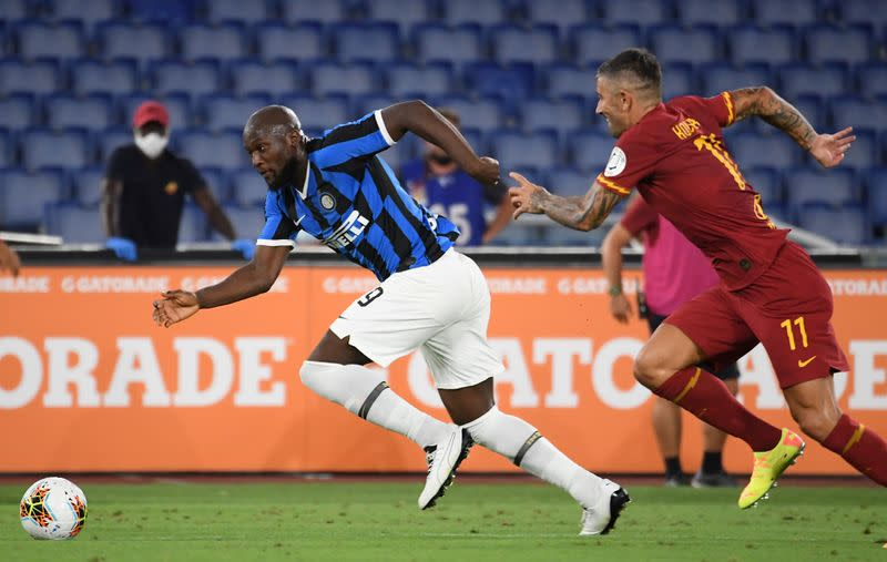 Inter title challenge falters in 2-2 draw at Roma