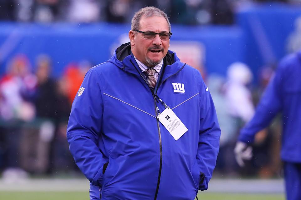 Giants general manager Dave Gettleman is an easy mark at times, but it's hard to deny how strong his offseason moves have been so far. (Photo by Rich Graessle/Icon Sportswire via Getty Images)