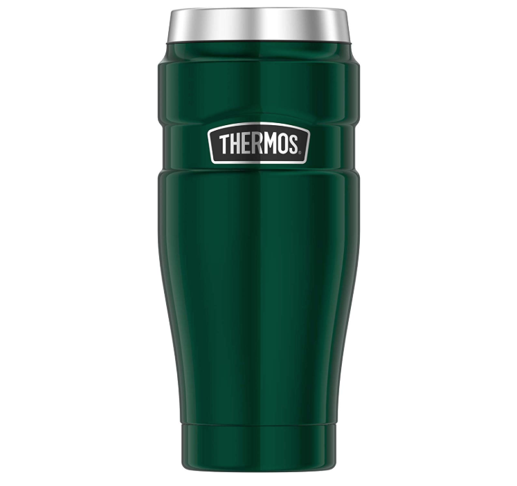 """<p><strong>Thermos</strong></p><p>amazon.com</p><p><strong>$23.86</strong></p><p><a href=""""https://www.amazon.com/dp/B07F275JLQ?tag=syn-yahoo-20&ascsubtag=%5Bartid%7C2141.g.29492086%5Bsrc%7Cyahoo-us"""" rel=""""nofollow noopener"""" target=""""_blank"""" data-ylk=""""slk:Shop Now"""" class=""""link rapid-noclick-resp"""">Shop Now</a></p><p>This double-walled, hot and cold insulated Thermos is vacuum-sealed for maximum temperature retention—and its classic design and A1 color ensure he'll actually use this travel mug.</p>"""