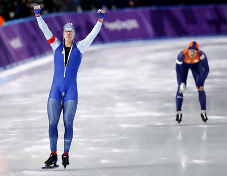 Korea's Cha Min-kyu wins surprise silver in men's 500m speed skating