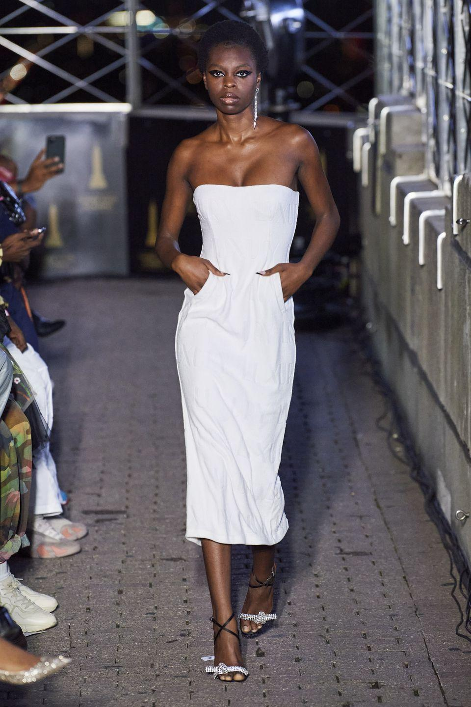 <p>Known for his daring dresses which have won over fans including Beyoncé, Kim Kardashian and Rihanna, LaQuan Smith did not disappoint in delivering some eveningwear drama in his SS22 that we will no doubt see on the red carpet over the next few months.</p>