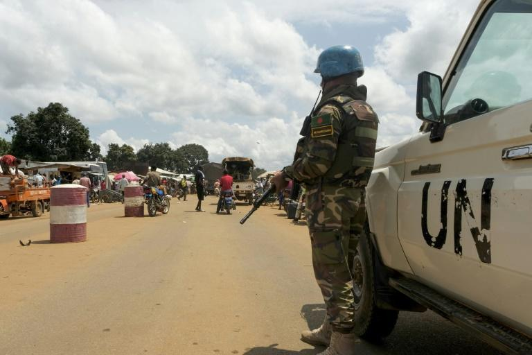 UN peacekeepers have mobilised in response to a surge in attacks