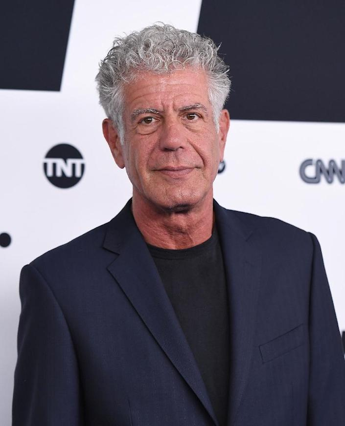 Bourdain died while in France filming an episode of his Emmy-winning CNN food and travel program 'Parts Unknown' (AFP Photo/ANGELA WEISS)