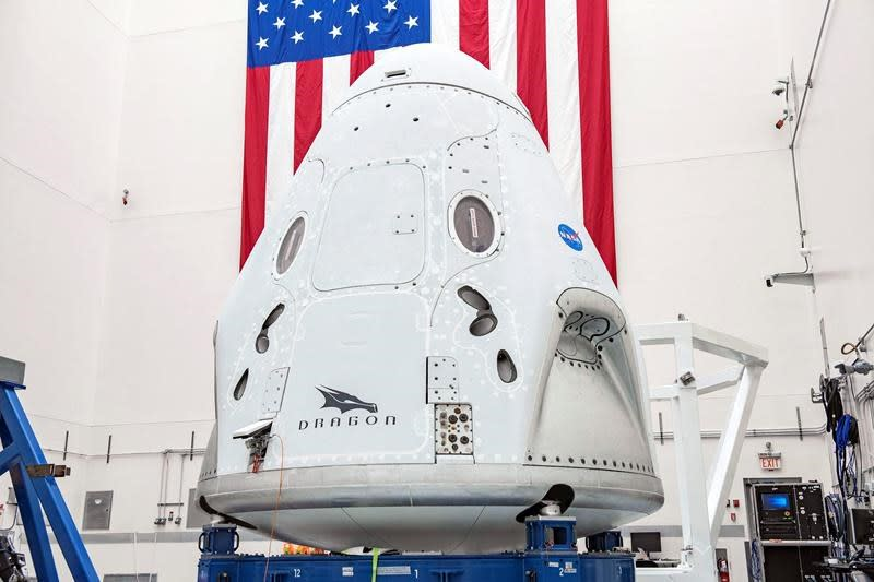 NASA astronauts go back to the future with capsule launch