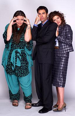 Camryn Manheim, Eric McCormack and Debra Messing on NBC's Will and Grace
