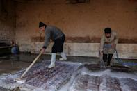 The rug hunters combing Afghanistan's carpet heartlands complain that antique pieces are now increasingly difficult to find