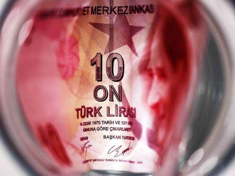 Turkish Currency Hits All-time Law Amid Market Jitters