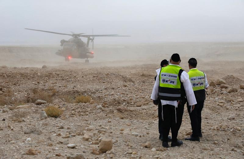 Israel says 9 teens died in flash floods