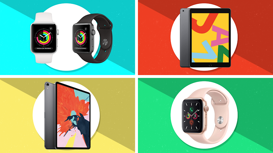 Apple iPads and Apple Watches are on sale starting at $169. (Photo: Apple)
