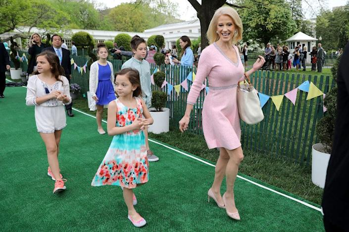 Kellyanne Conway family