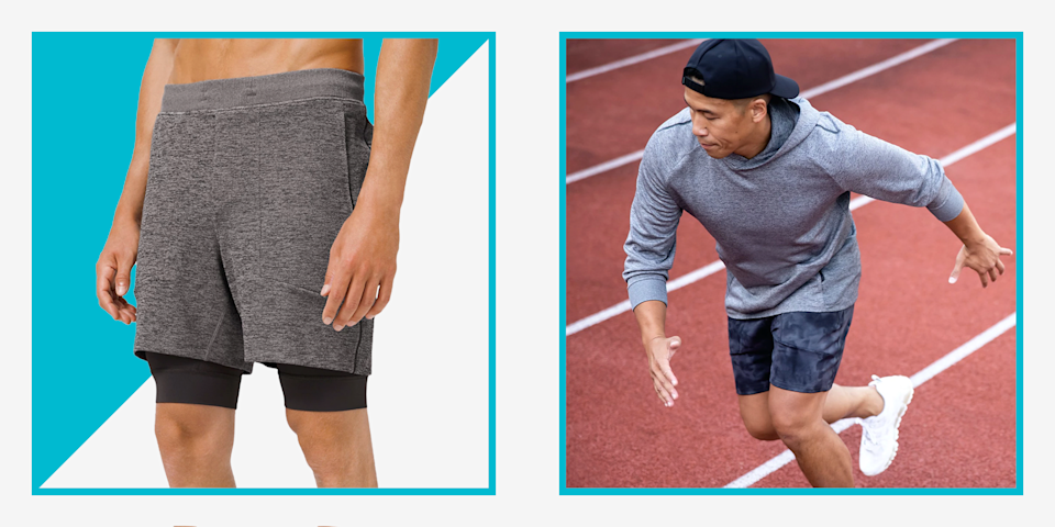 """<p>Let's face it, you can never have too much Lululemon gear. From <a href=""""https://www.menshealth.com/style/a26204719/lululemon-underwear-mens/"""" rel=""""nofollow noopener"""" target=""""_blank"""" data-ylk=""""slk:their crazy-comfortable ABC pants"""" class=""""link rapid-noclick-resp"""">their crazy-comfortable ABC pants</a> to <a href=""""https://www.menshealth.com/style/a26204719/lululemon-underwear-mens/"""" rel=""""nofollow noopener"""" target=""""_blank"""" data-ylk=""""slk:their breathable underwear"""" class=""""link rapid-noclick-resp"""">their breathable underwear</a>, the brand has basically taken over our entire wardrobes for work, workouts, and everything in between. But stocking up on this stylish-yet-functional gear can cost a pretty penny—and we'd like to hold onto those pennies when we can. </p><p>Luckily, Lululemon discounts a ton of gear through their <a href=""""https://go.redirectingat.com?id=74968X1596630&url=https%3A%2F%2Fshop.lululemon.com%2Fc%2Fmen%2F_%2FN-1z13zi2Z7tu&sref=https%3A%2F%2Fwww.menshealth.com%2Fstyle%2Fg33980752%2Flululemon-sale-we-made-too-much-mens-deals%2F"""" rel=""""nofollow noopener"""" target=""""_blank"""" data-ylk=""""slk:We Made Too Much Section"""" class=""""link rapid-noclick-resp"""">We Made Too Much Section</a>. Sizes run out fast, so the trick is to catch these deals once they go up on the site, which isn't always easy to do. Not to worry, because today we caught a ton of new deals on workout clothes you can score in almost every size offered! <a href=""""https://go.redirectingat.com?id=74968X1596630&url=https%3A%2F%2Fshop.lululemon.com%2Fp%2Fmen-shorts%2FPace-Breaker-Short-Linerless-7-MD%2F_%2Fprod9100022%3Fcolor%3D44719&sref=https%3A%2F%2Fwww.menshealth.com%2Fstyle%2Fg33980752%2Flululemon-sale-we-made-too-much-mens-deals%2F"""" rel=""""nofollow noopener"""" target=""""_blank"""" data-ylk=""""slk:Into unlined workout shorts"""" class=""""link rapid-noclick-resp"""">Into unlined workout shorts</a>? We got you. Need some <a href=""""https://go.redirectingat.com?id=74968X1596630&url=https%3A%2F%2Fshop.lululemon.com%2Fp%2Fmen-ss-t"""