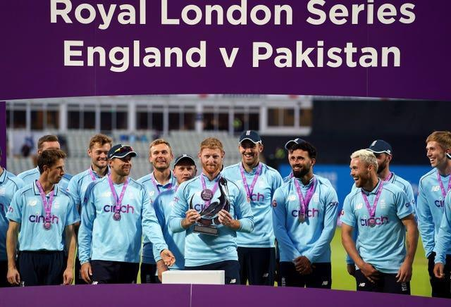 Ben Stokes captained England to ODI victory over Pakistan this summer