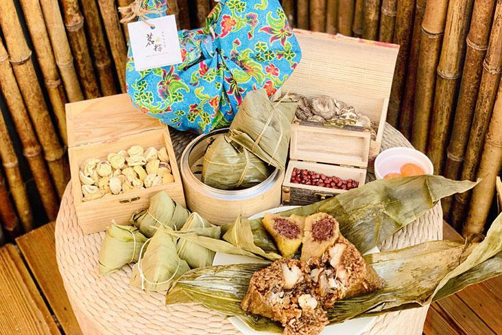 Sweet and savoury traditional handmade rice dumplings by Ming Rice Dumpling. – Pictures courtesy of Ming Rice Dumpling