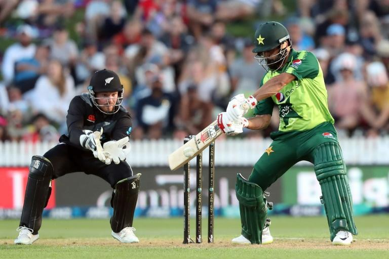Mohammad Hafeez was in destructive form, plundering 99 from 57 deliveries