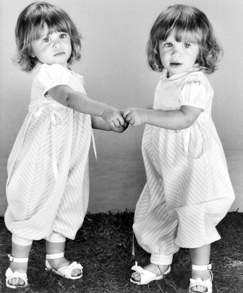 "These days, everyone knows that Mary-Kate and Ashley Olsen shared the role of Michelle on ""Full House."" But in the second season of the series, producers decided that they didn't want audiences to be aware that two actresses were playing the one part. During most of the show's run they had a shared <a href=""http://www.fh4ever.com/mary-kate-and-ashley-olsen.htm"">credit</a>: Mary-Kate Ashley Olsen. In Season 8, they were finally called out as individuals: Mary-Kate Olsen and Ashley Olsen."