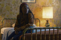 "Marsha Stephanie Blake appears in a scene from the film ""I'm Your Woman."" (Wilson Webb/Amazon Studios via AP)"