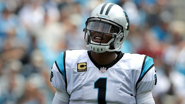 Carolina Panthers quarterback Cam Newton is happy with the progress he is making.