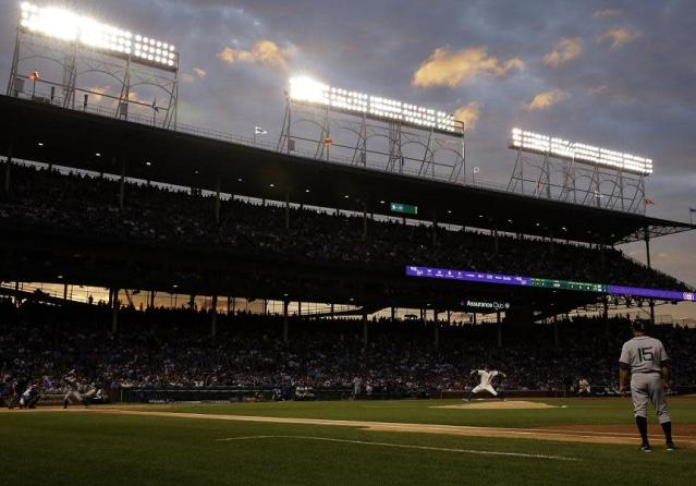 A man is suing the Cubs and MLB after a foul ball at Wrigley Field left him blind in one eye.