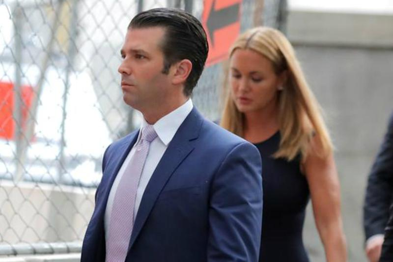 Donald Trump Jr Says Not Worried About Going to Jail: Report