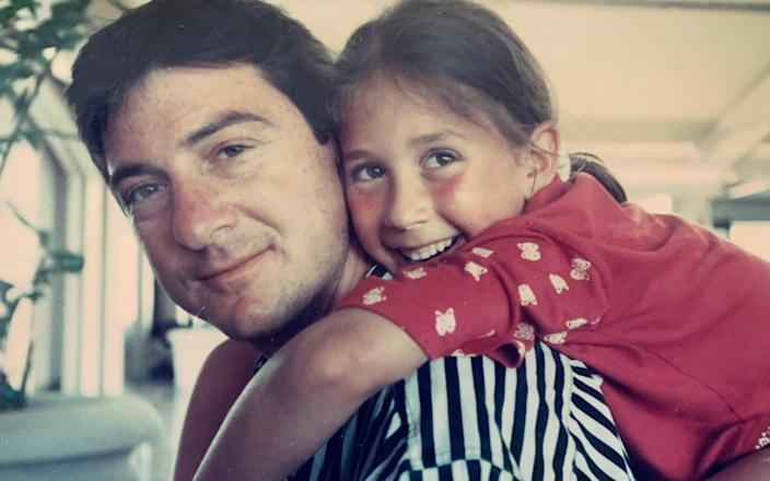 'Daddy's girl': Kari Colmans and her father, who bonded over their shared love of scuba