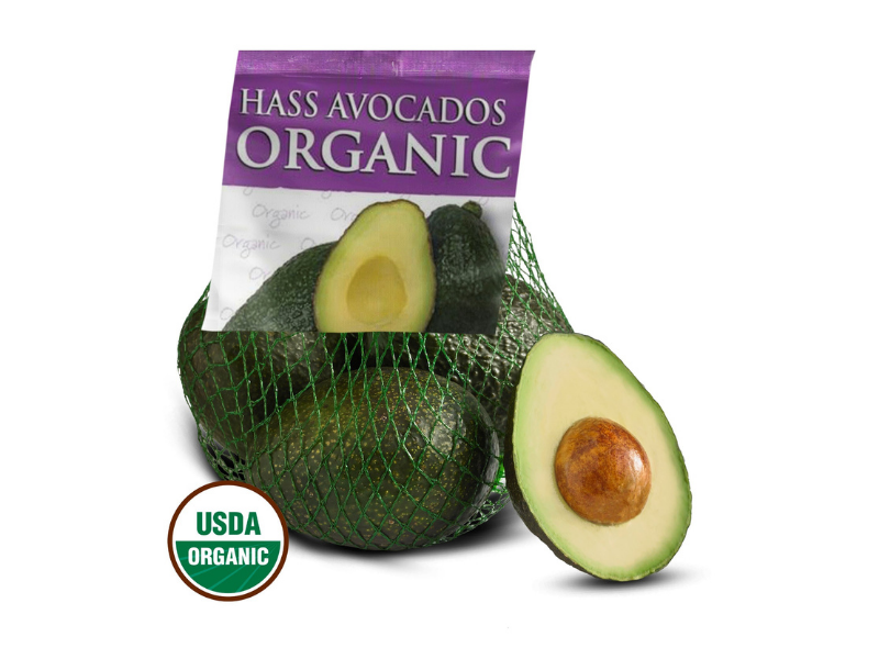 Organic Hass Avocados, 3-5 count. (Photo: Walmart)