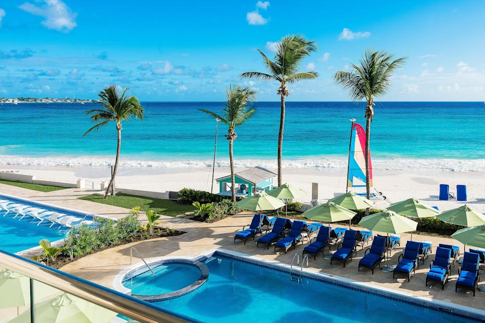 Sea Breeze Beach House in Barbados is a 122-room boutique hotel on the south coast.