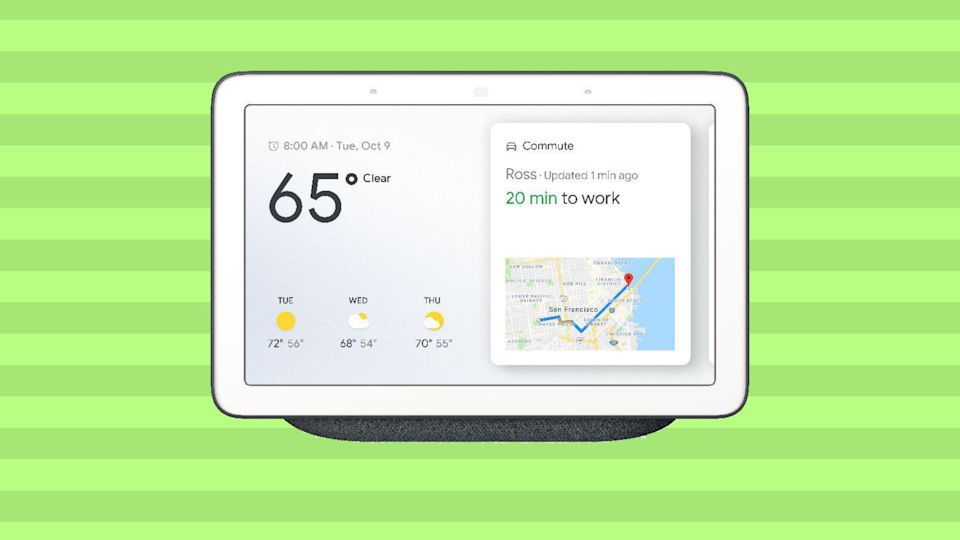 Save $41 on the Google Nest Hub. (Photo: Walmart)