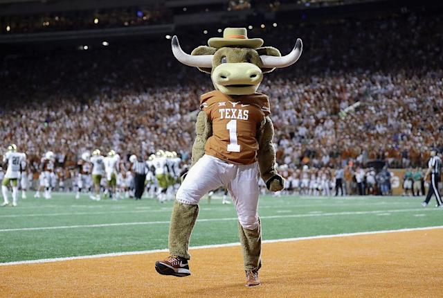 <p><strong>5. Texas.</strong> Top 2017-18 team: men's swimming (national champion). Trajectory: Steady. The Longhorns are always a strong, broad-based athletic department. But as the national leader in revenue (nearly $215 million in 2016-17) and expenditures ($207 million), it still feels like they should be better. </p>
